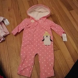 Cozy baby girl outfit
